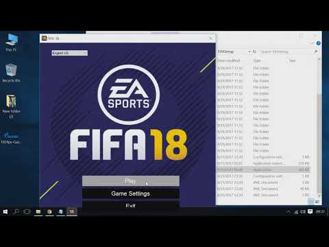 FIFA 18 Full Screen Fix