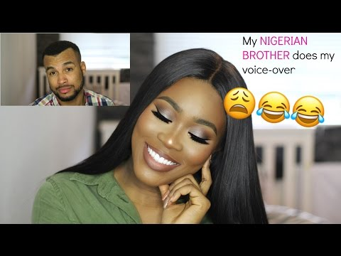 FUNNY NIGERIAN BROTHER DOES MY VOICEOVER