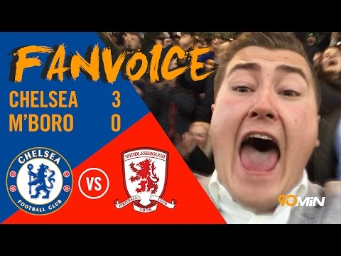 Middlesbrough relegated as Chelsea Smash them 3-0!! | Chelsea 3-0 Middlesbrough | 90min FanVoice