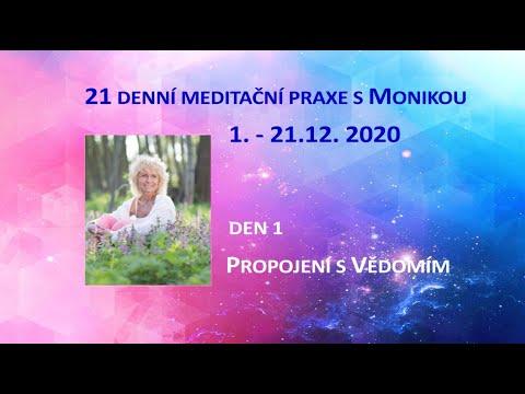 Meditační 21denní praxe - Den 1 - Meditace na Vědomí