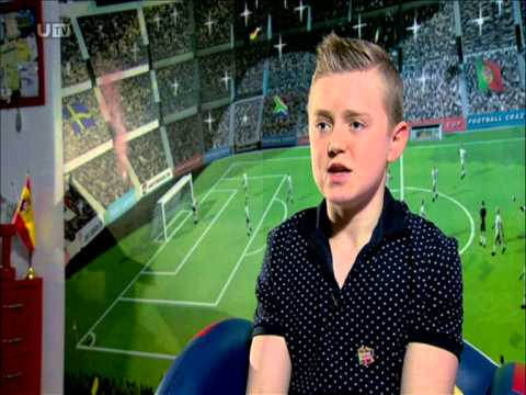 Carnmoney Fixer Jordan Caldwell (17) is sharing his experiences with anorexia to encourage others with eating disorders not to lose hope. This story was shown on UTV Live in April 2014.