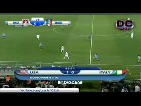 Italia vs USA - Copa Confederaciones 2009