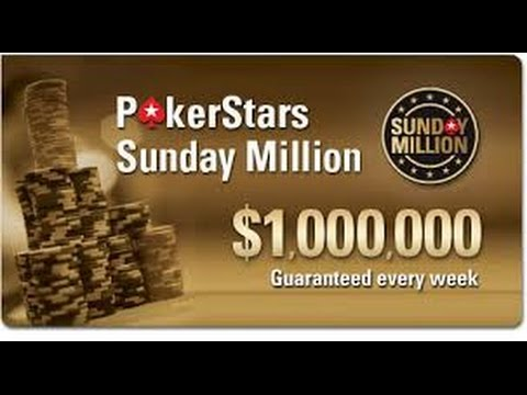 Poker Online - Sunday Million Final Table January 22/2017