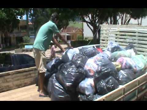 Entrega de doações Córrego do Bom Jesus - Univas