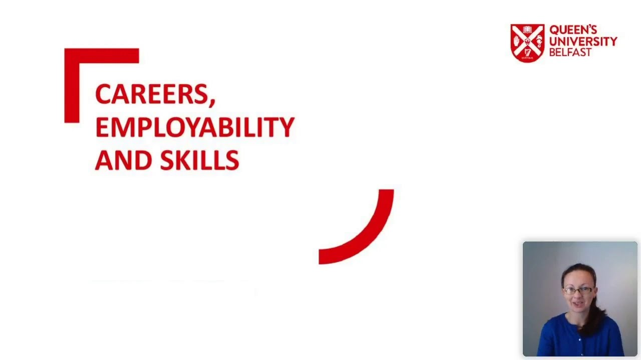 Video Thumbnail: Careers, Employability and Skills
