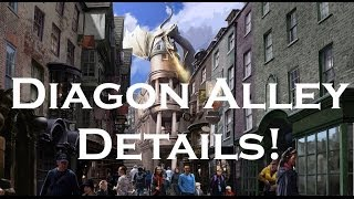 Universal Diagon Alley details revealed - Webcast with Harry Potter stars, Gringotts ride info