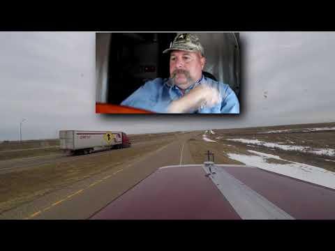 Semi truck driver lost all self-control