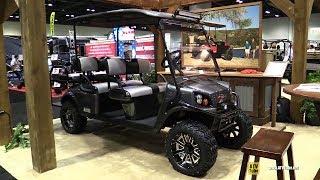 2. 2017 EZ Go Express L6 Golf Cart - Walkaround - 2016 AIMExpo Orlando