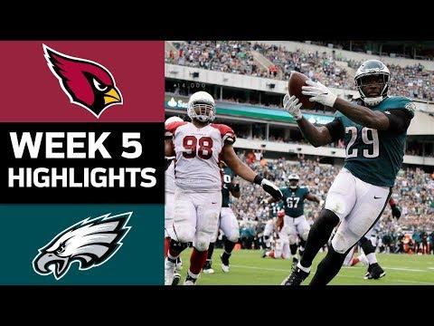Cardinals vs. Eagles | NFL Week 5 Game Highlights - Thời lượng: 7:29.