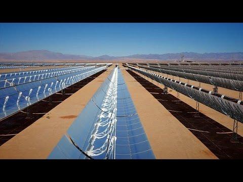 Στο Μαρόκο, το μεγαλύτερο εργοστάσιο ηλιακής ενέργειας στον κόσμο