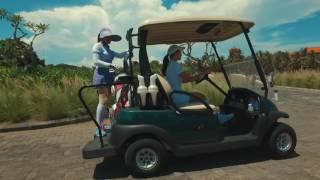 Гольф на Бали с Марией Орловой | Bali National Golf Club