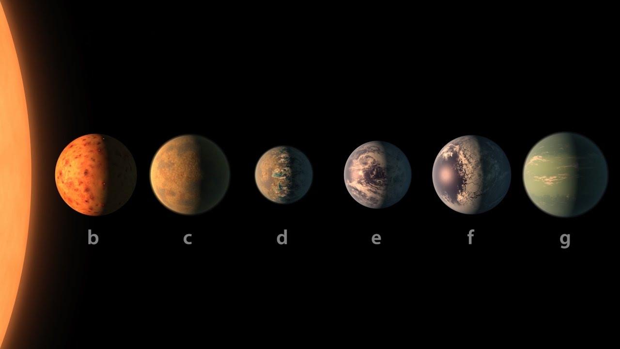 Ultrachladného trpaslíka obíhá sedm planet o velikosti Země