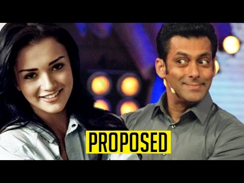 Amy Jackson PROPOSES Salman Khan