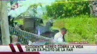 CIN Honduras -Accidente aéreo-muere capitán r de FFAA en show aereo-sab18-09-10