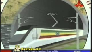 Ethiopia Launhces Construction Of Its Biggest Rail Way