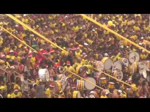 BARCELONA SC VS OLMEDO BSC CAMPEÓN AÑO 2012 - Sur Oscura - Barcelona Sporting Club