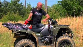 3. Greg's Garage: Riding Suzuki KingQuad 400 ASi ATV - Ep #29 - Seg 1