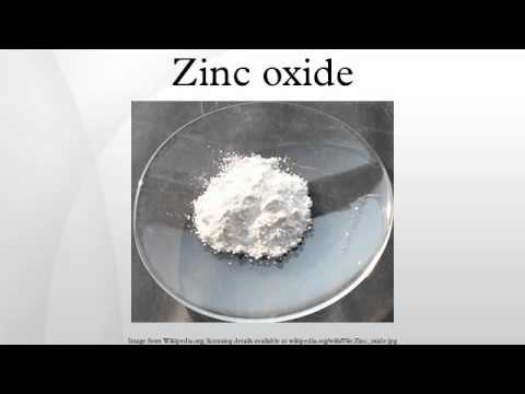how to apply zinc oxide
