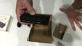 AVANTEK S35 7.8A / 39W Output 5-Port Intelligent USB Car Charger Charging Station Unboxing
