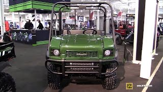 9. 2015 Kawasaki Mule 4010 Utility Vehicle - Exterior and Interior Walkaround - 2014 Toronto ATV Show