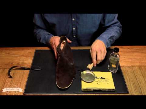 how to care suede shoes