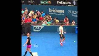 Suncorp Kids Tennis Day at Brisbane International 2015