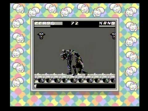 mortal kombat 3 game boy astuces
