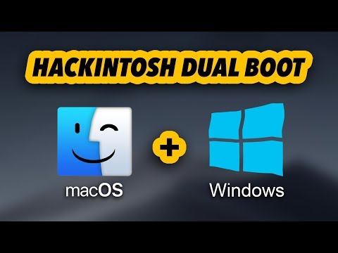Dual Boot Windows and macOS | Hackintosh Tutorial