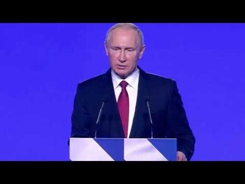 Хазин Анализ выступления Путина перед ФС 1 марта 2018 1 03 2018 Переломный момент