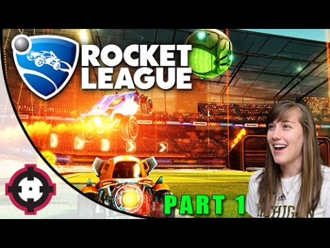 Rocket League Gameplay // Part 1 - Why Is This So Fun?!