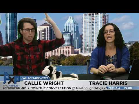 Atheist Experience 22.08 with Tracie Harris and Callie Wright