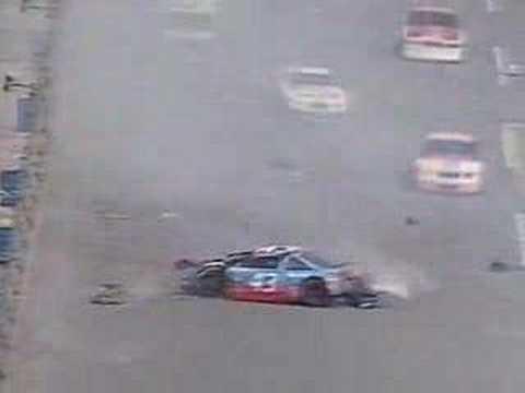 Petty's 1988 Daytona wreck