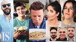 Video Carbonara: Italian chefs' reactions to the most popular videos worldwide! MP3, 3GP, MP4, WEBM, AVI, FLV Agustus 2019