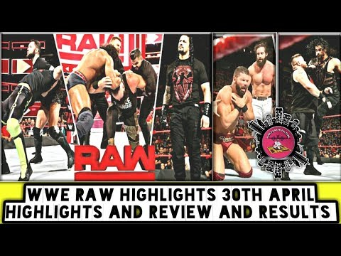 WWE Raw Highlights 30th April Highlights And Review And Results/World Wrestling Tamil