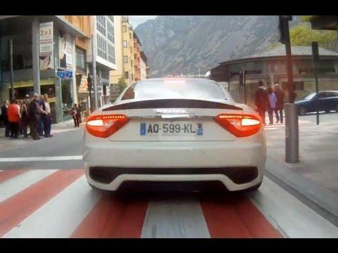 Maserati Granturismo S MC Pack BRUTAL CHASING!! Flatout in full thorttle, RedLine REVS…