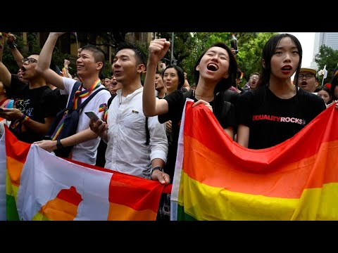Taiwan: Gleichgeschlechtliche Ehen als erstes asiatis ...