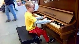 Video Top 5 AMAZING KIDS Piano Street Performances Videos || AWESOME MP3, 3GP, MP4, WEBM, AVI, FLV Agustus 2018