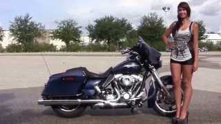 10. Used 2012 Harley Davidson Street Glide Motorcycles for sale in Florida
