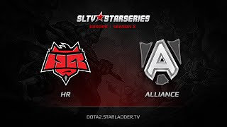 Alliance vs HR, game 1