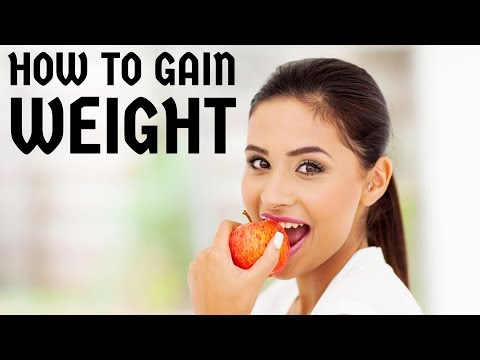 How to gain weight - become healthy - look good & beautiful - Nutrition, physical exercise Video