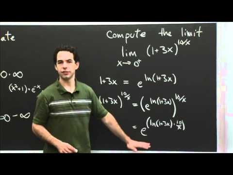 Indeterminate forms | MIT 18.01SC Single Variable Calculus, Fall 2010