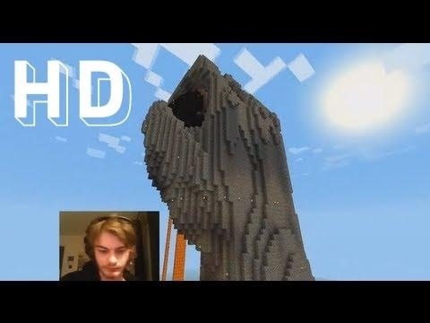 Minecraft Timelapse: Epic Facecam in Minecraft