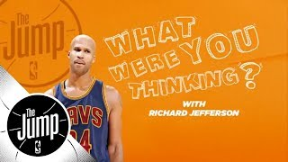 Video Richard Jefferson reveals what he was thinking during epic career moments   The Jump   ESPN MP3, 3GP, MP4, WEBM, AVI, FLV Agustus 2018