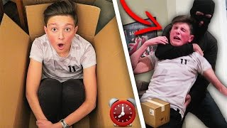 MAILING MYSELF IN A BOX FOR 24 HOURS GONE WRONG! 📦😱