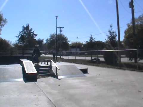 Crook Webster City skatepark 4 stair rail