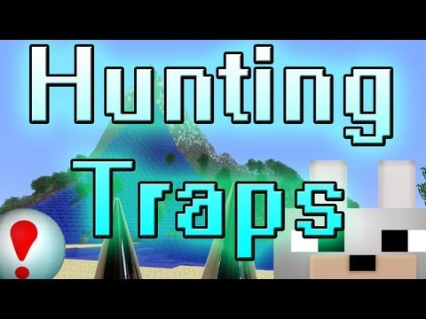 Minecraft Mods - Hunting Traps 1.3.2 Review and Tutorial