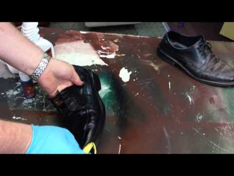 how to dye leather shoes a different color