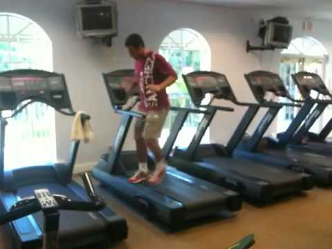 Sanchez-Casal Tennis Academy- Treadmill Drills