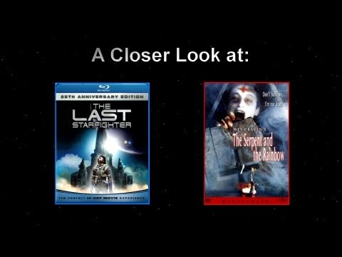 A Closer Look At The Last Starfighter Blu-ray And The Serpent And The Rainbow DVD
