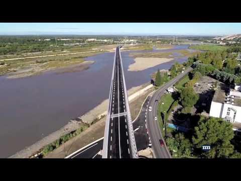Trabajo en el Viaducto de Cavaillon - Metalesa Seguridad Vial[;;;][;;;]